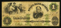 Obsoletes By State:Ohio, Troy, OH- The State Bank of Ohio, Miami County Branch $1 May 22,1862 Wolka 2590-09. ...