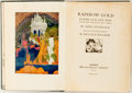 Books:Children's Books, Sara Teasdale. Rainbow Gold. New York: Macmillan, 1922.First edition, first printing. Publisher's blue cloth stampe...