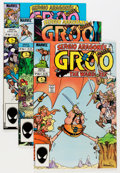 Modern Age (1980-Present):Humor, Groo the Wanderer Group (Marvel, 1985-90) Condition: Average NM....(Total: 29 Comic Books)