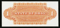 Obsoletes By State:Ohio, (Not Shown), OH- Independent Bank $1 Back Undated Wolka 2042-01Back Proof. ...