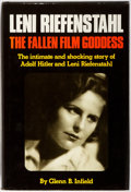 Books:Biography & Memoir, Glen B. Infield. Leni Riefenstahl: The Fallen Film Goddess. New York: Thomas Y. Crowell Company, 1976. First edi...