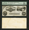 Obsoletes By State:Ohio, Cincinnati, OH- The State Bank of Ohio, Franklin Branch $20 WolkaUnlisted Proof. ...