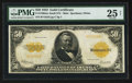 Large Size:Gold Certificates, Fr. 1200 $50 1922 Mule Gold Certificate PMG Very Fine 25 Net.. ...