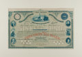 Advertising:Paper Items, American Bank Note Company: Philadelphia Sinking Fund Bond of1881....