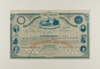 American Bank Note Company: Philadelphia Sinking Fund Bond of 1881