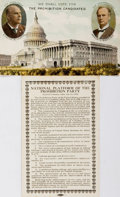 Political:Small Paper (1896-present), Chafin & Watkins: Jugate Prohibition Postcards. ...