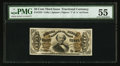 Fractional Currency:Third Issue, Fr. 1325 50¢ Third Issue Spinner PMG About Uncirculated 55.. ...