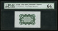 Fractional Currency:Third Issue, Fr. 1238SP 5¢ Third Issue Wide Margin Back PMG Choice Uncirculated 64.. ...