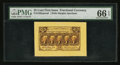 Fractional Currency:First Issue, Fr. 1282SP 25¢ First Issue Wide Margin Face PMG Gem Uncirculated 66EPQ.. ...