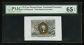 Fractional Currency:Second Issue, Fr. 1283SP 25¢ Second Issue Wide Margin Face PMG Gem Uncirculated 65 EPQ.. ...