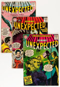 Silver Age (1956-1969):Horror, Tales of the Unexpected Group (DC, 1957-64) Condition: AverageGD.... (Total: 11 Comic Books)