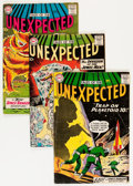 Silver Age (1956-1969):Horror, Tales of the Unexpected Group (DC, 1959-64) Condition: AverageVG.... (Total: 10 Comic Books)