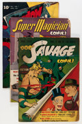 Golden Age (1938-1955):Miscellaneous, Street and Smith Golden Age Comics Group (Street and Smith, 1940s) Condition: Average GD/VG.... (Total: 7 Comic Books)