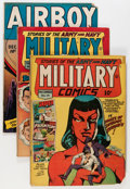 Golden Age (1938-1955):Miscellaneous, Golden Age Miscellaneous Comics Group (Various Publishers, 1940s-50s) Condition: Average GD/VG.... (Total: 7 Comic Books)