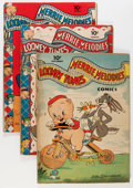 Golden Age (1938-1955):Cartoon Character, Looney Tunes and Merrie Melodies Comics Group (Dell, 1942-46)Condition: VG/FN.... (Total: 13 Comic Books)