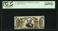 Fractional Currency:Third Issue, Fr. 1328SP 50¢ Third Issue Spinner Narrow Margin Face PCGS Very Choice New 64PPQ.. ...