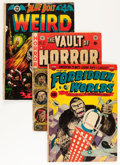 Golden Age (1938-1955):Horror, Comic Books - Assorted Golden and Silver Age Horror and ScienceFiction Comics Group (Various Publishers, 1951-64) Condition: ...(Total: 21 Comic Books)