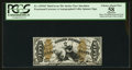 Fractional Currency:Third Issue, Fr. 1355SP 50¢ Third Issue Justice PCGS Apparent Choice About New 58.. ...