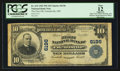National Bank Notes:Maryland, Friendsville, MD - $10 1902 Plain Back Fr. 634 The First NB Ch. #6196. ...