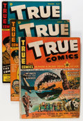 Golden Age (1938-1955):War, True Comics Group (True, 1942-49) Condition: Average VG.... (Total:51 Comic Books)