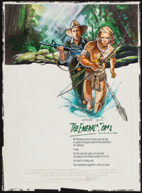 "The Emerald Forest (Metro Advertising, 1985). Original Unused Poster Artwork (22"" X 30""). Action"
