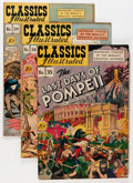 Golden Age (1938-1955):Classics Illustrated, Classic Comics First Editions Group (Gilberton, 1947-49) Condition:Average FN/VF.... (Total: 17 Comic Books)