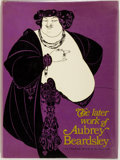 Books:Art & Architecture, [Aubrey Beardsley]. The Later Work of Aubrey Beardsley. New York: Dover, [1967]. A republication of the original 194...
