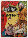 Golden Age (1938-1955):Classics Illustrated, Classic Comics #8 Arabian Nights - First Edition (Gilberton, 1943)Condition: GD/VG....