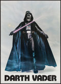 "Movie Posters:Science Fiction, Darth Vader from Star Wars & Other Lot (Factors, Etc., 1977).Commercial Posters (2) (20"" X 28"" & 22"" X 34""). ScienceFictio... (Total: 2 Items)"