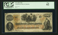 Confederate Notes:1862 Issues, T41 $100 1862 PF-23 UNL.. ...