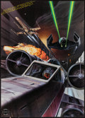 """Movie Posters:Science Fiction, Star Wars & Other Lot (Factors, Etc., 1977). Official Star WarsFan Club Poster (20"""" X 28"""") & Promotional Poster (17"""" X 22"""")...(Total: 2 Items)"""