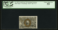 Fr. 1289 25¢ Second Issue PCGS Choice About New 55