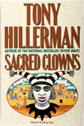 Books:Literature 1900-up, Tony Hillerman. SIGNED. Sacred Clowns. HarperCollins, 1993. Advance Reading Copy. Signed by Hillerman on the half-...