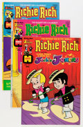 Bronze Age (1970-1979):Cartoon Character, Richie Rich and Jackie Jokers File Copies Group (Harvey, 1973-82)Condition: Average NM-.... (Total: 102 Comic Books)