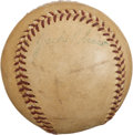 Autographs:Baseballs, 1950's Jackie Robinson Single Signed Baseball....