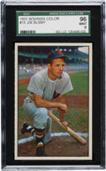 Baseball Cards:Singles (1950-1959), 1953 Bowman Color Jim Busby #15 SGC 96 Mint 9 - Pop One! The Finest SGC Example! ...