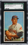Baseball Cards:Singles (1950-1959), 1953 Bowman Color Mike Garcia #43 SGC 96 Mint 9 - Pop One! TheFinest SGC Example! ...