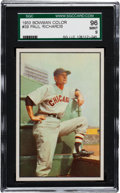 Baseball Cards:Singles (1950-1959), 1953 Bowman Color Paul Richards #39 SGC 96 Mint 9 - Pop Two, NoneHigher! ...