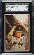 Baseball Cards:Singles (1950-1959), 1953 Bowman Color Lou Kretlow #50 SGC 96 Mint 9- Pop One! TheFinest SGC Example! ...