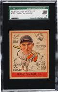 Baseball Cards:Singles (1930-1939), 1938 Goudey Frank Demaree #268 SGC 88 NM/MT 8 - Pop Three, OneHigher. ...