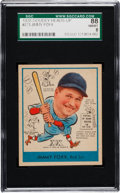 Baseball Cards:Singles (1930-1939), 1938 Goudey Jimmy Foxx #273 SGC 88 NM/MT 8....