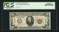Small Size:World War II Emergency Notes, Fr. 2304 $20 1934 Hawaii Federal Reserve Note. PCGS Gem New 65PPQ.....