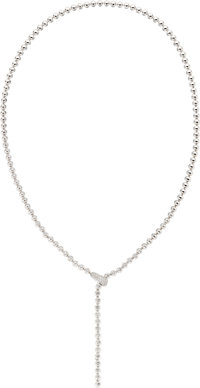 Diamond, White Gold Necklace, Cartier