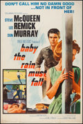 "Movie Posters:Drama, Baby the Rain Must Fall (Columbia, 1965). Poster (40"" X 60"").Drama.. ..."