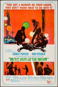 """In the Heat of the Night (United Artists, 1967). Poster (40"""" X 60""""). Academy Award Winners"""