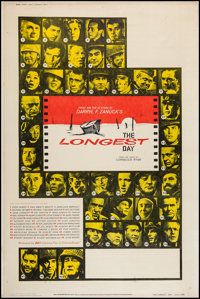 """The Longest Day & Other Lot (20th Century Fox, 1962). Posters (2) (40"""" X 60"""") Style Z & Y. War..."""