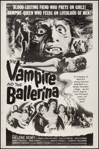 """The Vampire and the Ballerina (United Artists, 1962). Poster (40"""" X 60""""). Horror"""