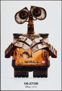 """WALL·E & Others Lot (Walt Disney Pictures, 2008). One Sheets (5) (27"""" X 40"""") DS & SS Ad..."""