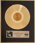 Music Memorabilia:Awards, Elvis Presley Elvis Forever Canadian Recording IndustryAssociation Gold Record Award (RCA 7031 - Canada, 1975)....