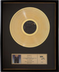 Music Memorabilia:Awards, Elvis Presley Moody Blue RCA Gold Record Award (RCA 2428,1977). ...